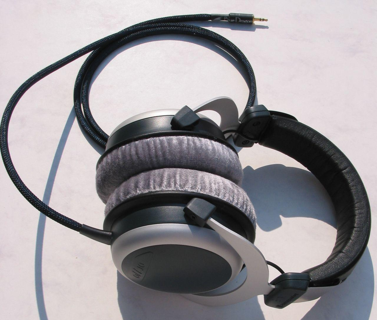 Beyerdynamic DT770 Blue Dragon V2 Headphone Cable
