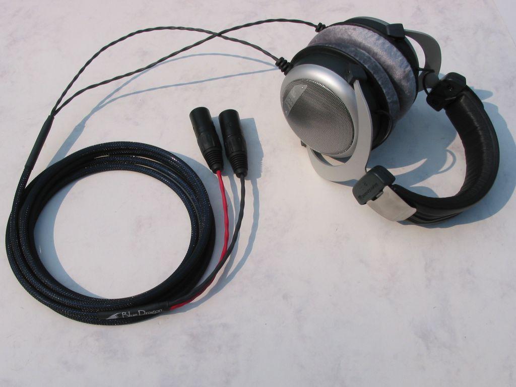 Beyerdynamic DT880 Blue Dragon V2 Headphone Cable