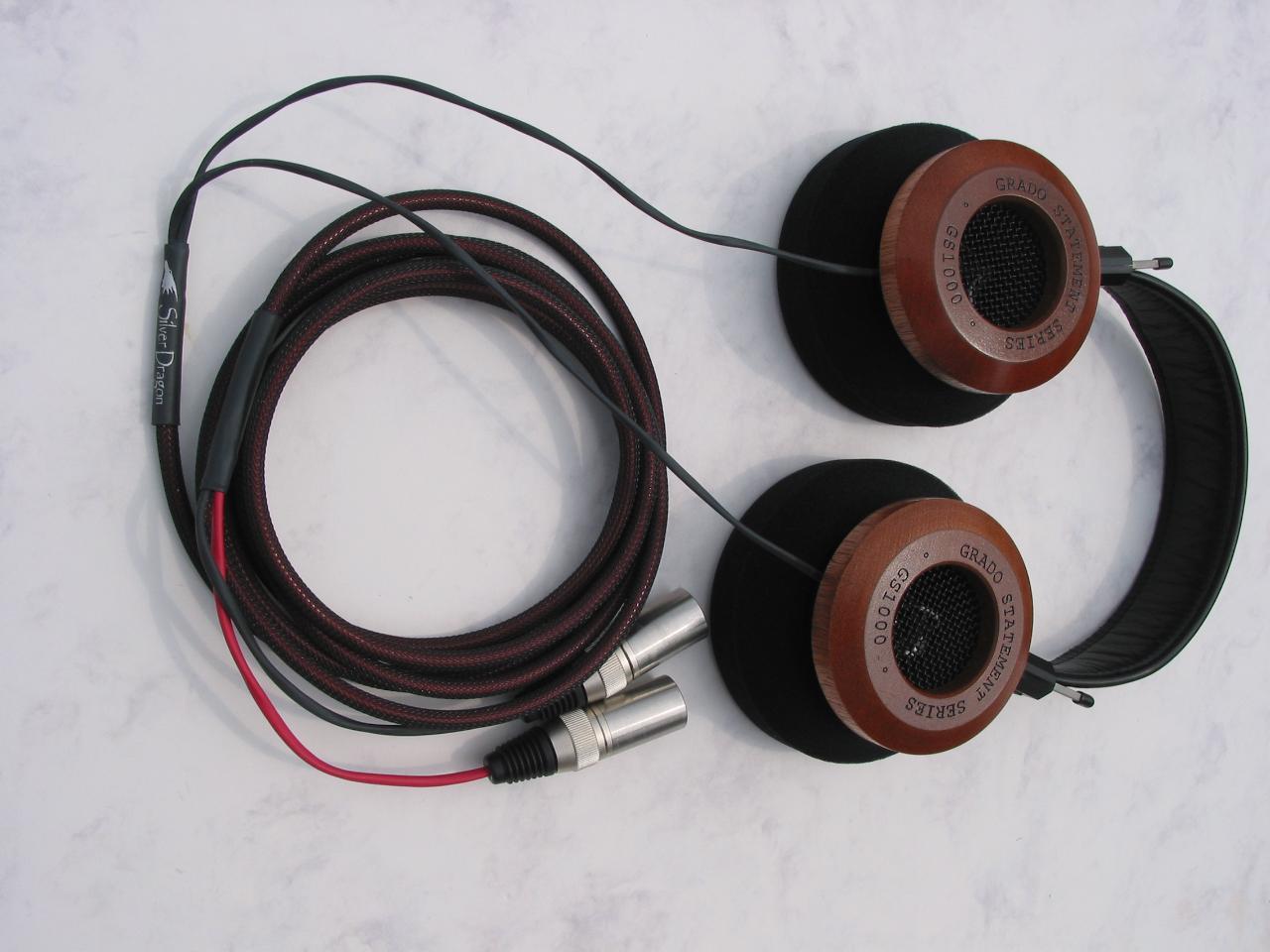 Grado GS1000 Silver Dragon V2 Headphone Cable
