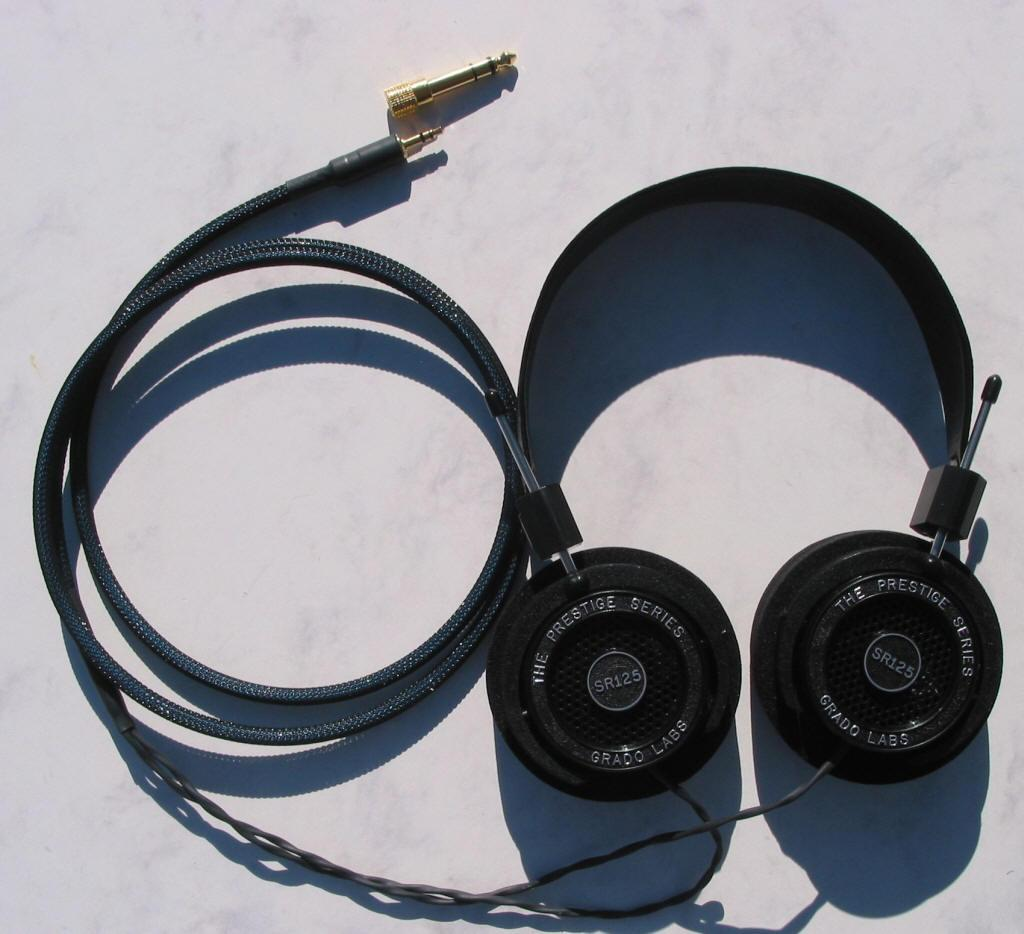 Grado SR-125 Blue Dragon V2 Headphone Cable