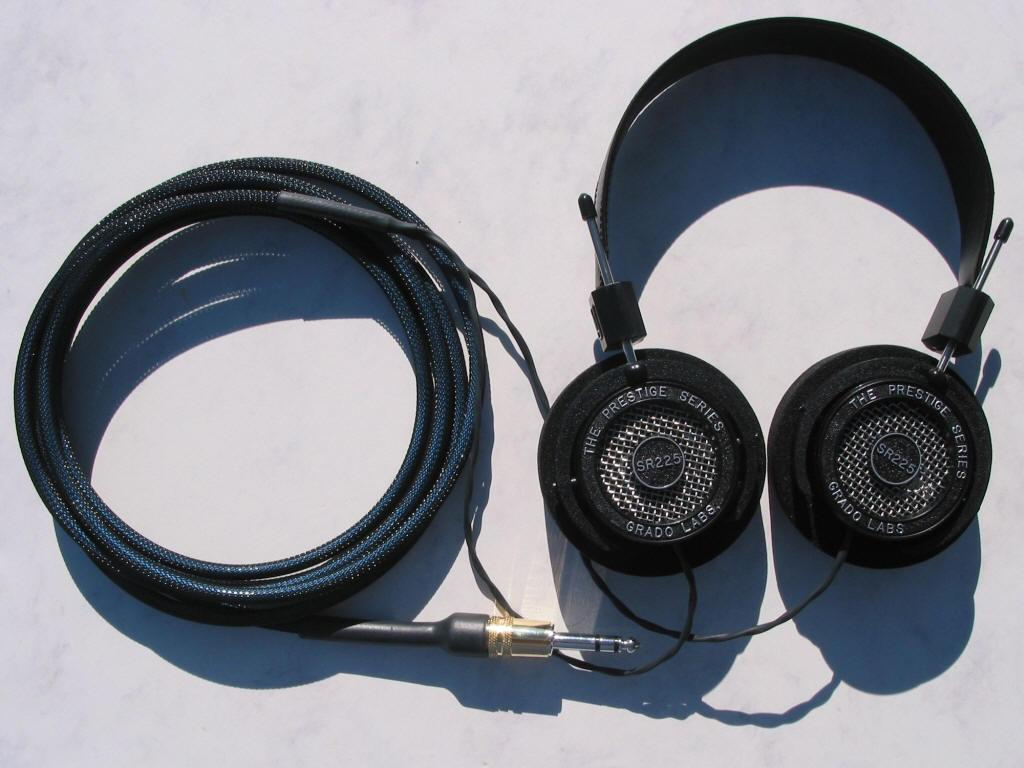 Grado Labs SR-225 Blue Dragon V2 Headphone Cable