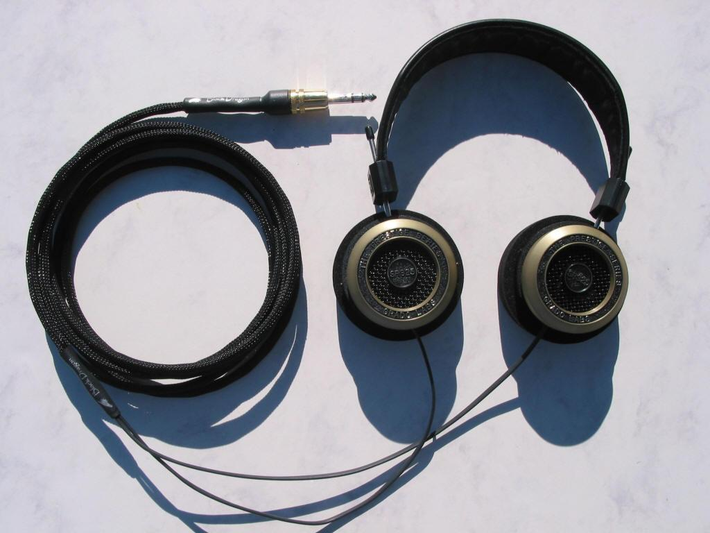 Grado SR-325 Black Dragon V1 Headphone Cable