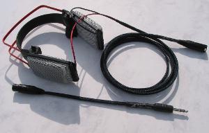 AKG K1000 Blue Dragon V2 Headphone Cable & Headphone Adapter