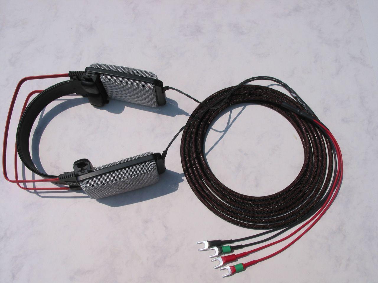 AKG K1000 Silver Dragon V2 W/ Spades Headphone Cable