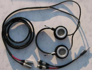 Grado PS-1 Silver V2 W/ Headphone Adapter System Headphone Cable