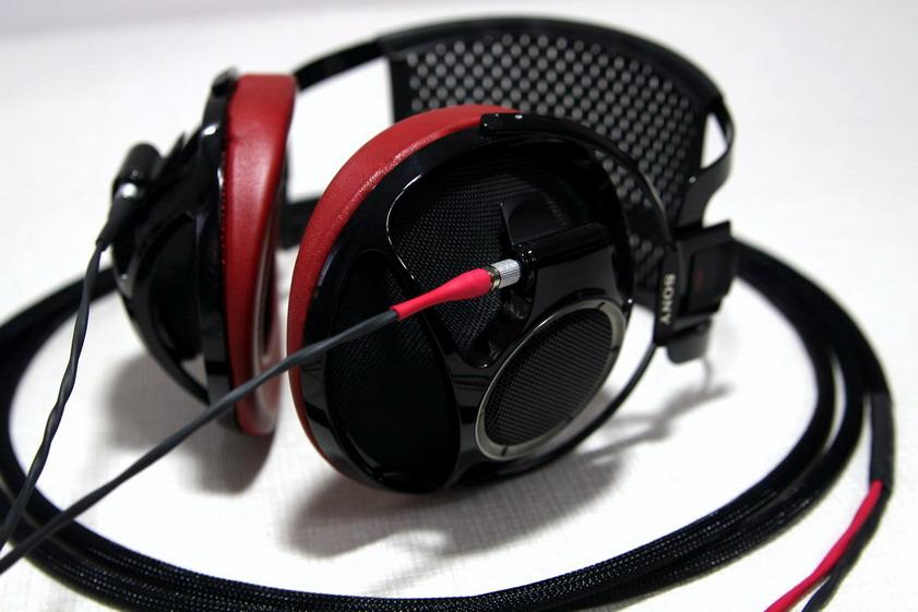 Sony Qualia Silver Dragon V2 Headphone Cable