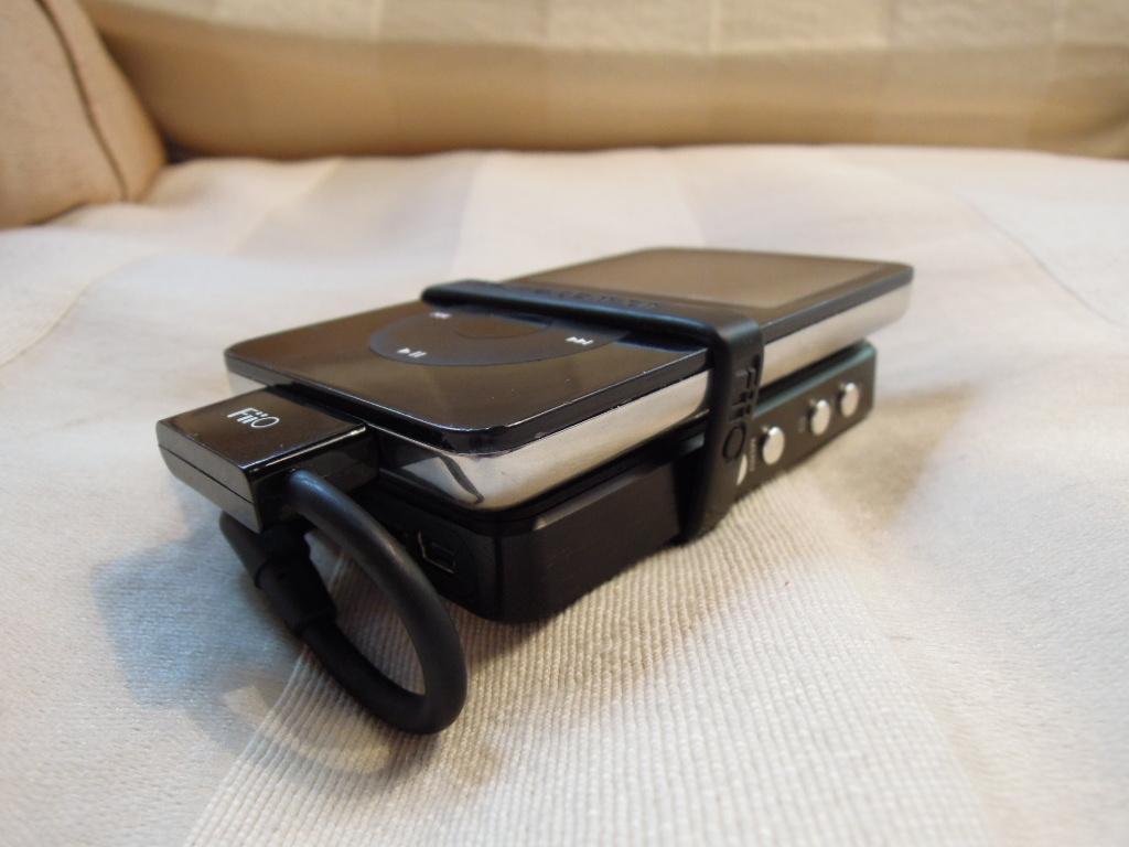 Fiio E07K and iPod Video 5th gen
