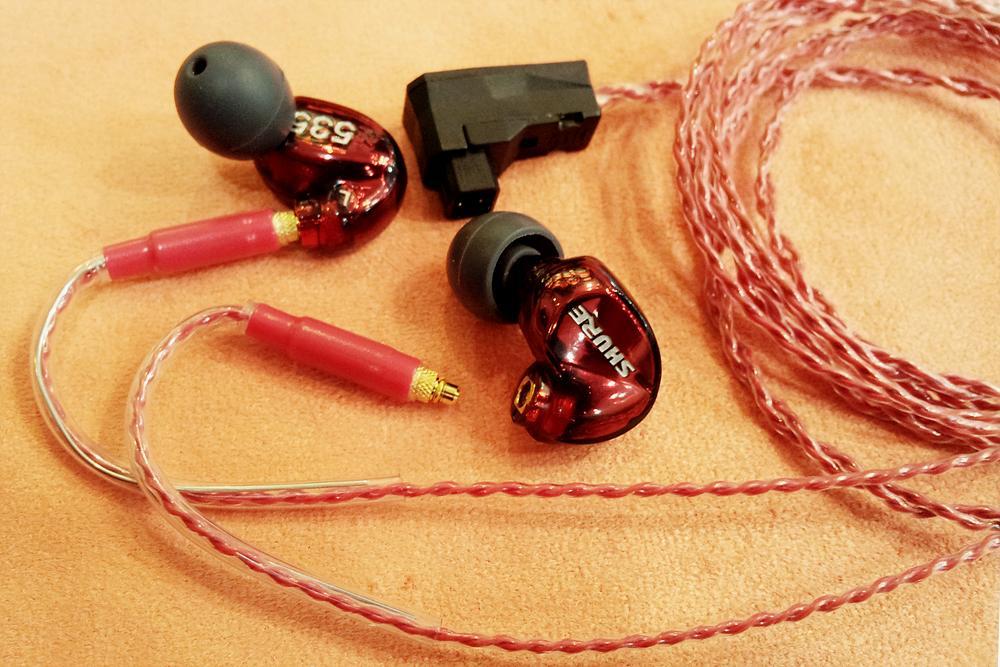 Custom cable for SE535LTD
