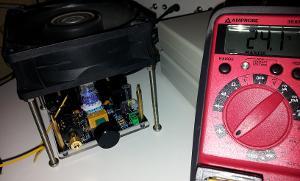 Interior temperature of the amplifier