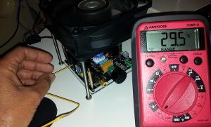 Heatsink temperature