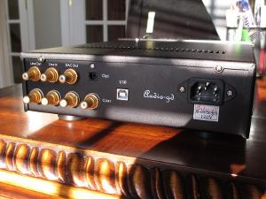 Rear View of Amp / DAC