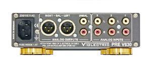 Violectric PRE V630 2103 Edition Back