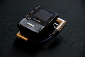 custom cable for the sansa clip zip + fiio e6
