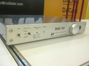 Rudistor DAC X3