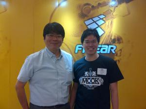 Me with Mr. Suyama