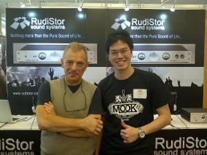 Me With Mr. Rudistor