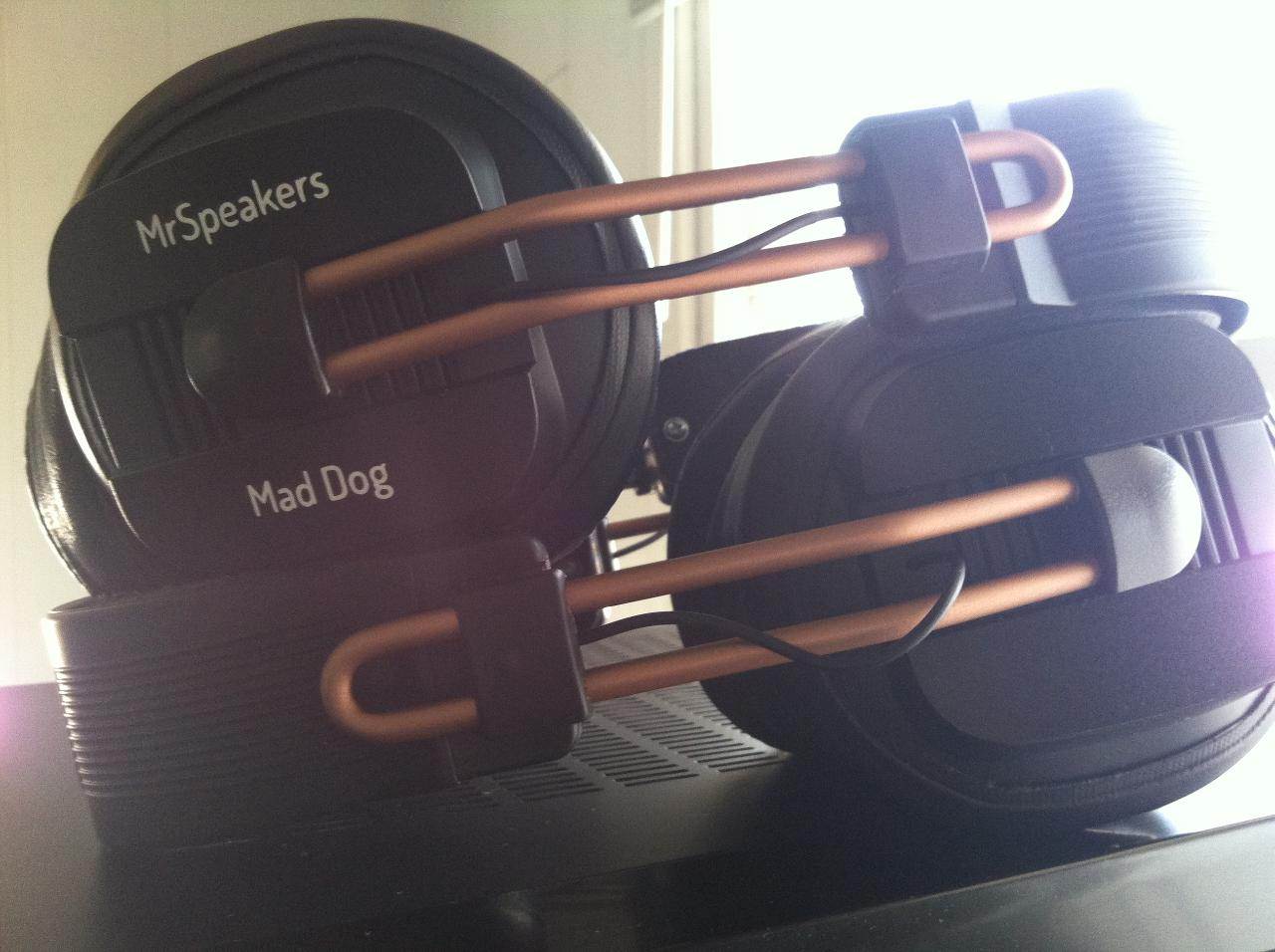 The first pair of MDs I received(Darth) and the replacement pair Dan(MrSpeakers) sent me<img...