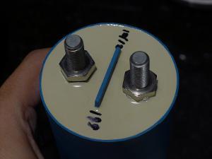 Icar 200uf metalized polypropylene capacitor. 300VAC / 420VDC