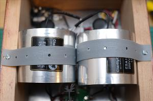 Mounting straps for the 100uf 250V ClarityCap ESAs.