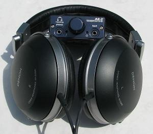 Modified Denon Headphones