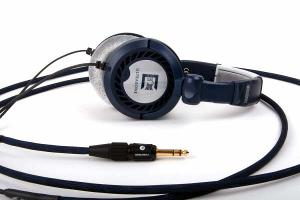 """Modified Ultrasone PROline 2500 Headphones with Blue Dragon V2 with Furutech 1/4"""" Plug with..."""