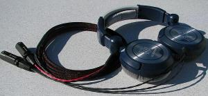 Modified Ultrasone PRO 750 Headphones with Balanced Silver Dragon V2 with Furutech FP-601M...