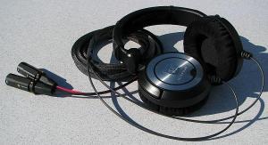 Modified Ultrasone PRO 900 Headphones with Balanced Black Dragon V2 with Furutech FP-601M...