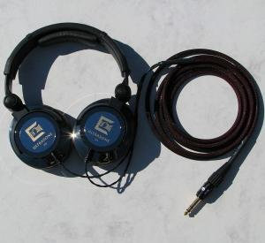 """Modified Ultrasone Edition 9Headphones with Silver Dragon V2 with Furutech 1/4"""" FP-704(G)"""