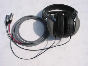 Sony CD3000 Balanced Black Dragon V1 recable with Neutrik X-HD Male XLRs