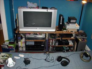 Various pictures of my set-up as well as my dads.