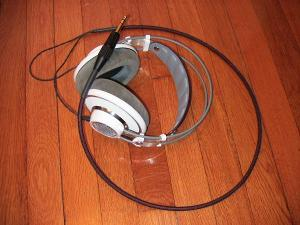 AKG 701 with Silver Dragon Cable and upgraded Neutric Plug - my ultimate reference