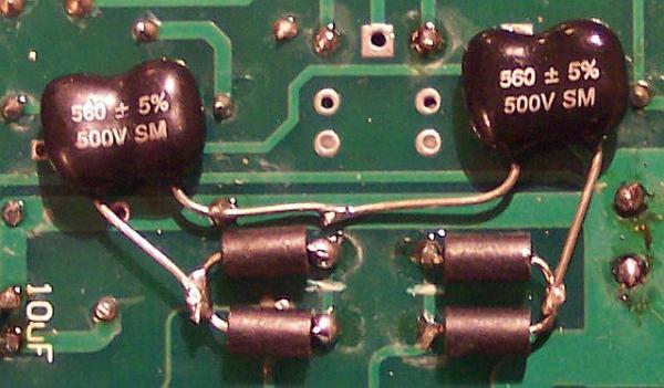 pictures of output caps