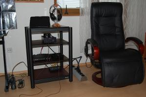 Finalized audio corner