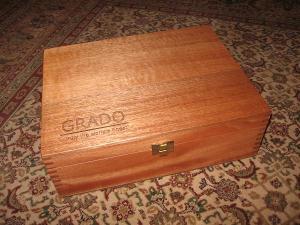 Grado wooden boxes