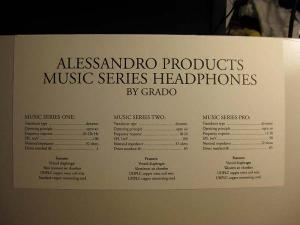 Alessandro Music Series One MS-1