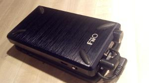 Bottom side of FiiO E12 Mont Blanc. Took the rubber feet from an old keyboard. Works better than...