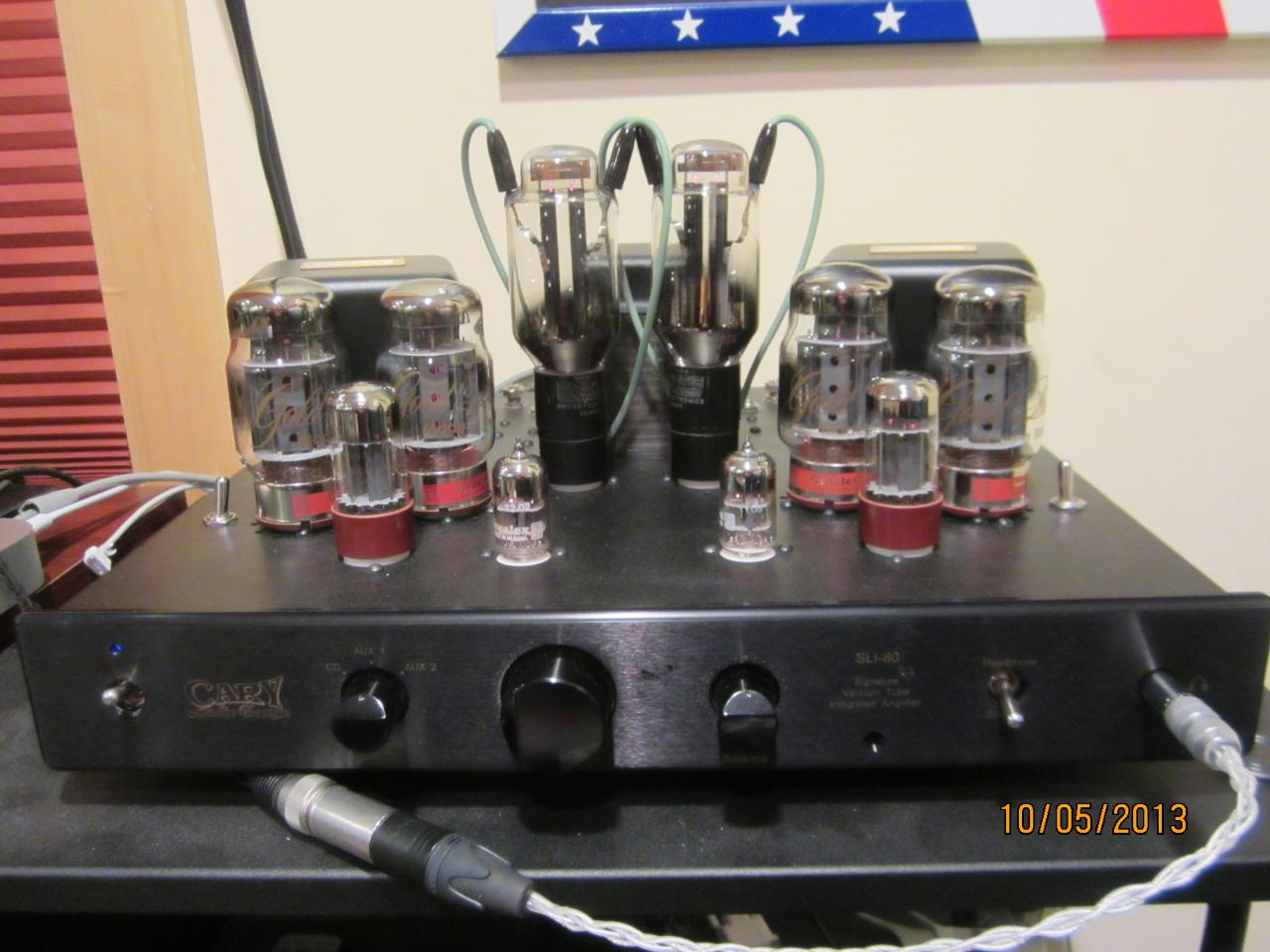 Cary SLI-80 with twin USAF-596 Rectifier's