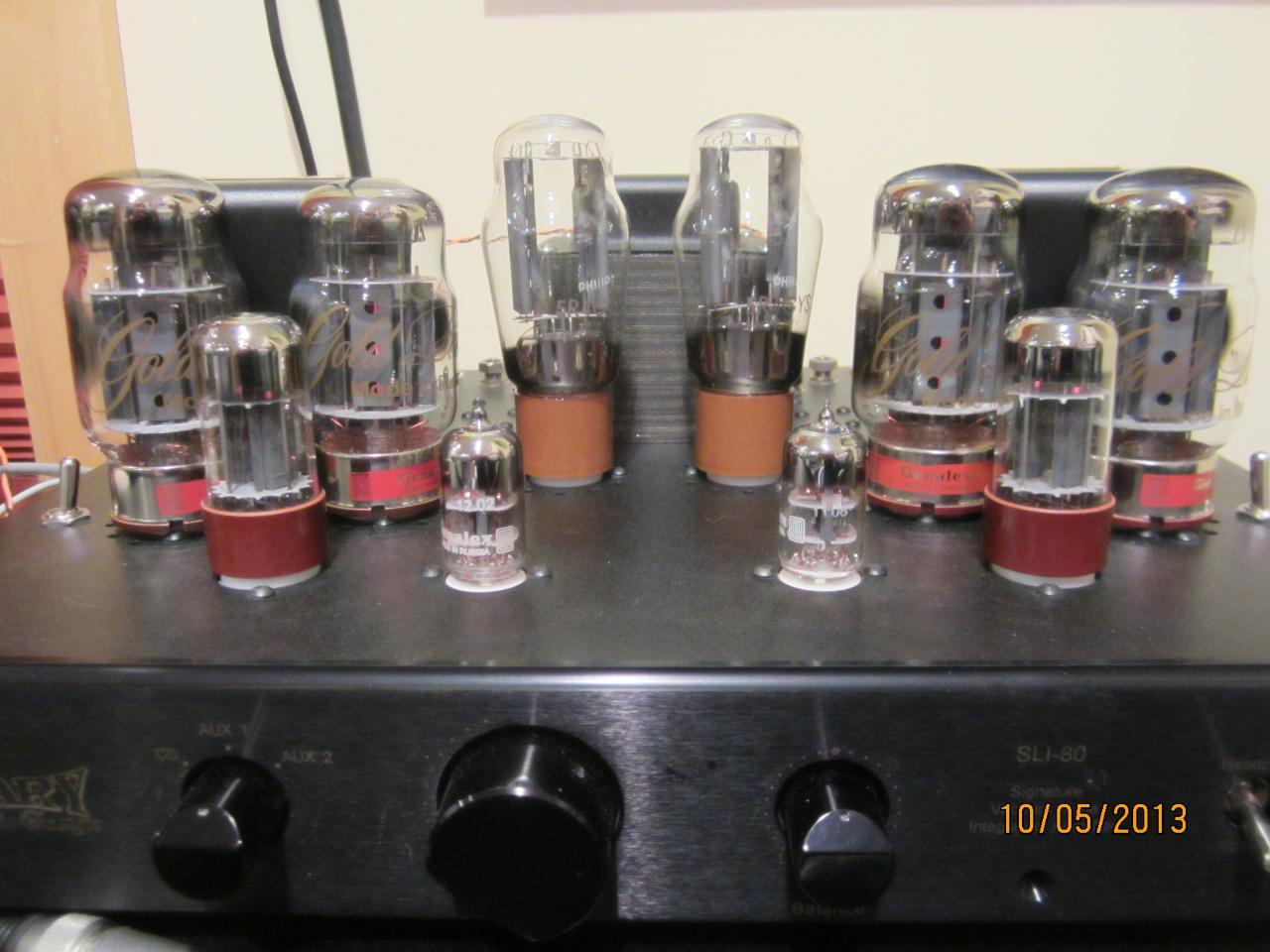 Cary Audio SLI-80 Integrated Tube Amplifier