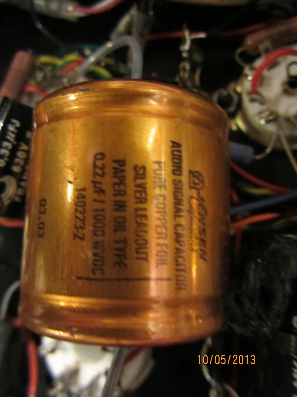 Jensen Capacitor upgrades