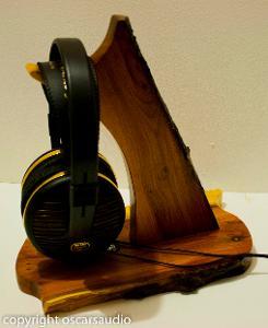 yew headphone stand www.oscarsaudio.co.uk