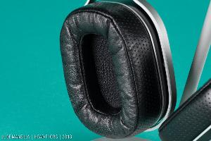 OPPO PM-1 pre-production prototype earpad closeup.