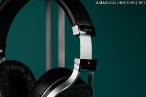 OPPO PM-1 pre-production prototype headband extended.