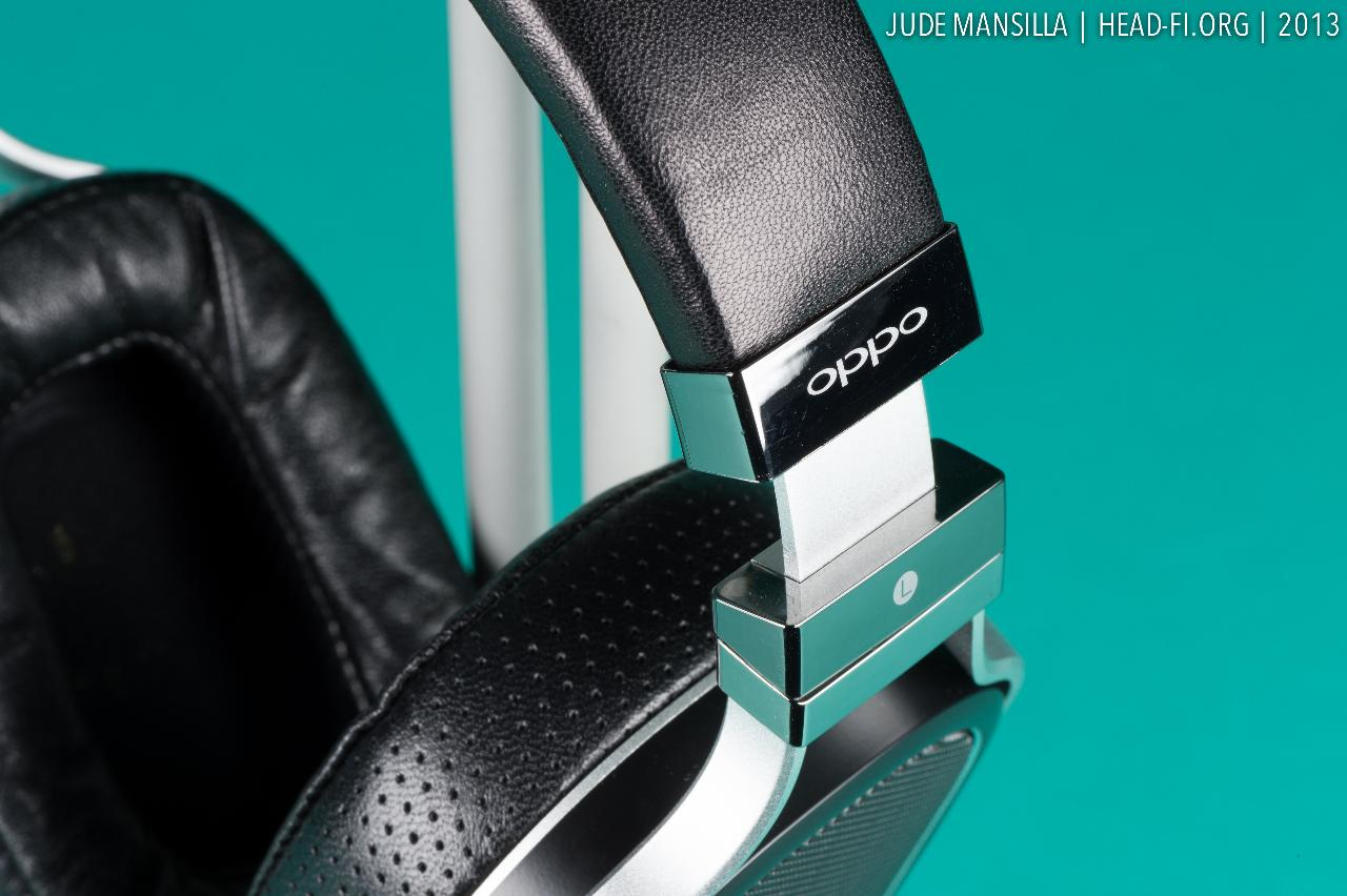 OPPO PM-1 pre-production prototype headband slightly extended.