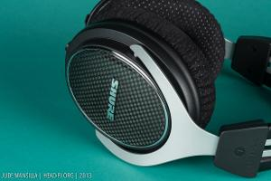 The carbon fiber plates on the outside of the SRH1540's earcups are real carbon fiber.
