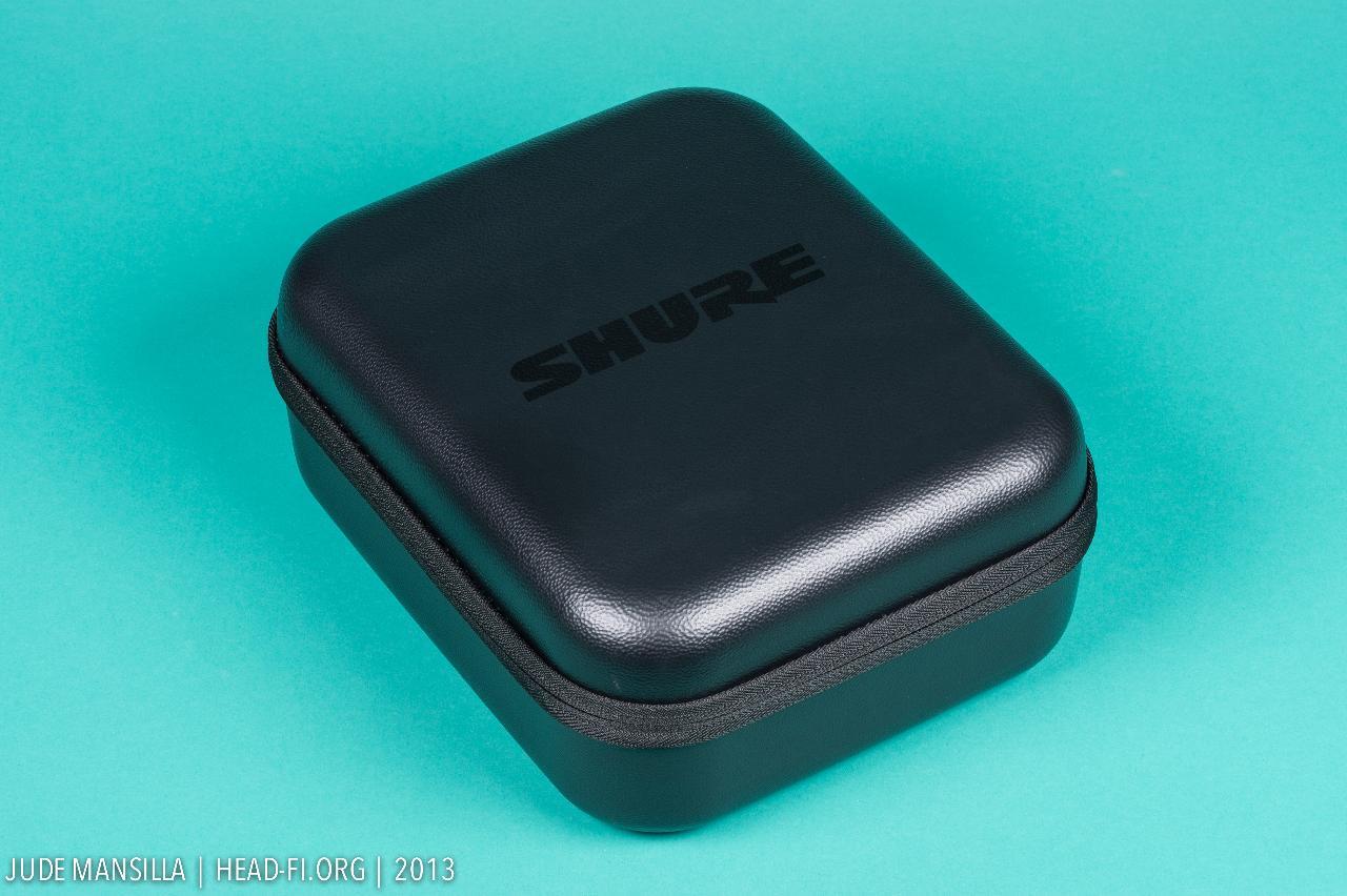 Shure SRH1540 carrying case.