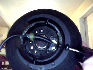 To my surprise, I got more bass out of my knockaround SR-60s when I popped the holes in the back...