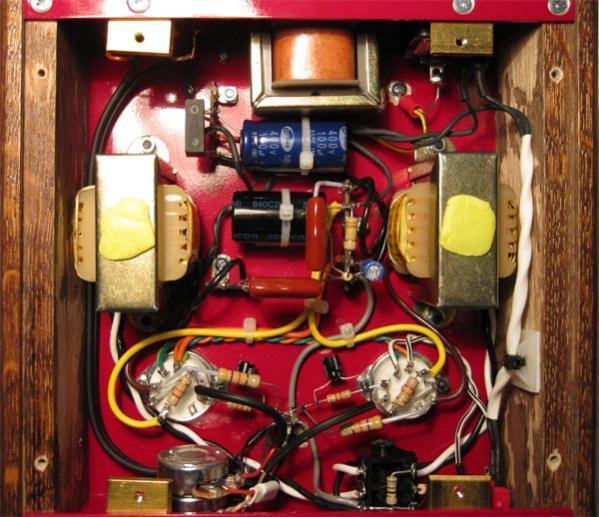 J. Sound Lab headphone amp - inside