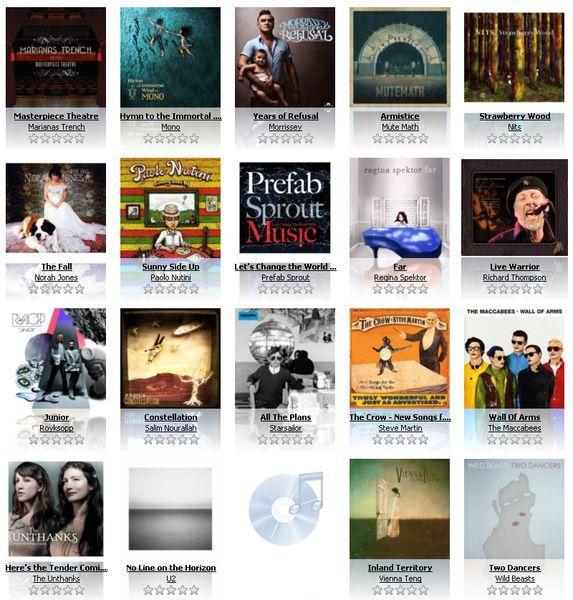 best cds 2009 2