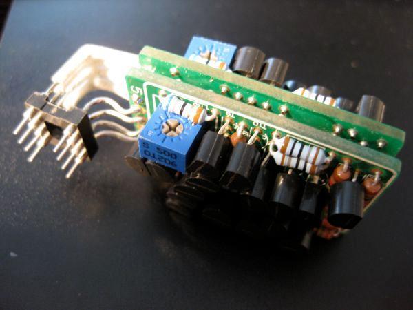 BursonAudio opamp modul prepared for Pop Pulse PCM1796