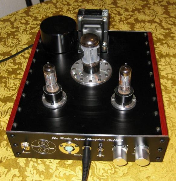A few amps designed by Alex that I have built